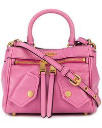 Moschino - Biker Pocket Handbag - Lyst