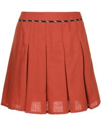Guild Prime - Pleated Mini Skirt - Lyst