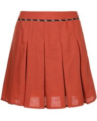 Guild Prime - Pleated Mini Skirt - Lyst