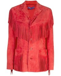 Ralph Lauren - Fringed Jacket - Lyst