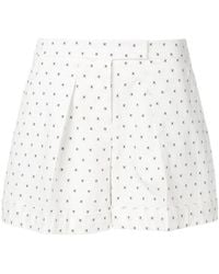 Jil Sander Navy - Cross Pattern Shorts - Lyst