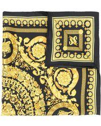Versace - Foulard imprimé baroque - Lyst