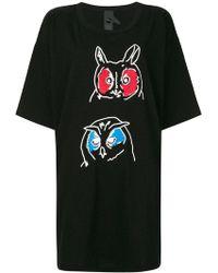 Bernhard Willhelm - Owl Print T-shirt - Lyst