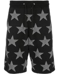 Guild Prime - Star Print Bermuda Shorts - Lyst