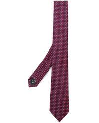 Ermenegildo Zegna - Woven Micro Circle Print Tie - Lyst