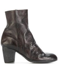 Ink | Zipped Ankle Boots | Lyst