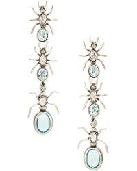 Camila Klein - Longo Formigas Earrings - Lyst