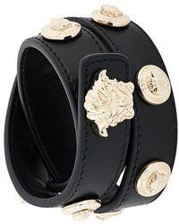 Versace - Medusa Wrap Bracelet - Lyst