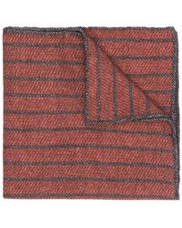 Eleventy - Striped Pattern Handkerchief - Lyst