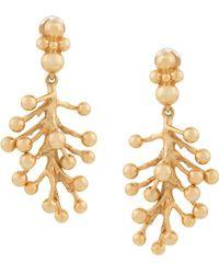 Oscar de la Renta - Mimosa Drop Earrings - Lyst