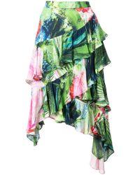 Natori - Sunset Palms Tiered Skirt - Lyst