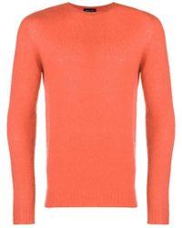 Roberto Collina - Textured Knit Sweater - Lyst