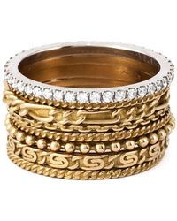 Wouters & Hendrix - Set Of 8 Stacking Rings - Lyst