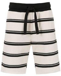 Osklen - Striped Bermuda Shorts - Lyst