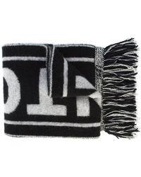 The Elder Statesman Spurs logo scarf - Noir