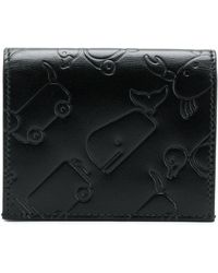 Thom Browne - Embossed Leather Toy Icon Double Cardholder - Lyst