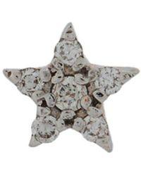 Kismet by Milka - 14kt Rose Gold Star Diamond Stud - Lyst