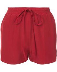 Robert Rodriguez - Drawstring Mini Shorts - Lyst