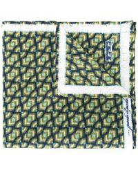 Fefe - Printed Pocket Square - Lyst