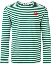 Play Comme des Garçons | Striped Long-sleeve T | Lyst