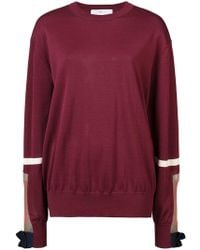 Toga - Mesh Panel Cuffed Sweater - Lyst