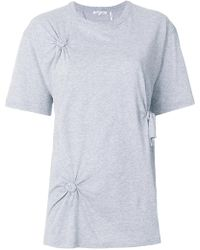 Helmut Lang - Knotted T-shirt - Lyst