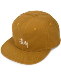 Stussy - Embroidered Detail Baseball Cap - Lyst