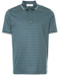 Cerruti 1881 - Striped Polo Shirt - Lyst
