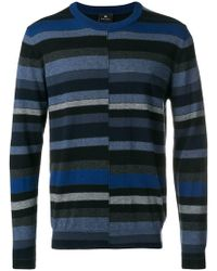 PS by Paul Smith - Horizontal Stripe Jumper - Lyst