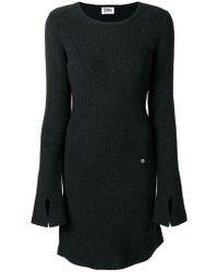Sonia by Sonia Rykiel - Long Sleeved Knitted Dress - Lyst