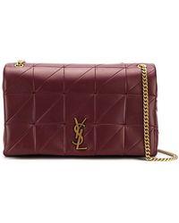 Saint Laurent - Jamie Patchwork Shoulder Bag - Lyst 49ab5443ef3c5