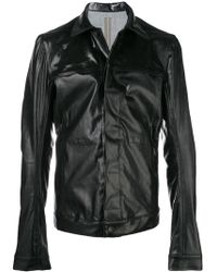 Rick Owens Drkshdw - Fitted Shirt Jacket - Lyst