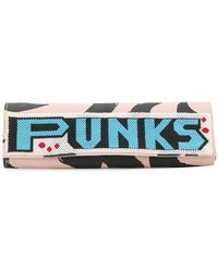 Vivienne Westwood Anglomania - Beaded Punk Clutch - Lyst