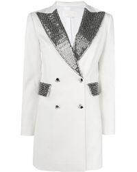 Genny - Blazer Party Dress - Lyst
