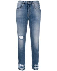 Pinko - Minou High Waisted Jeans - Lyst