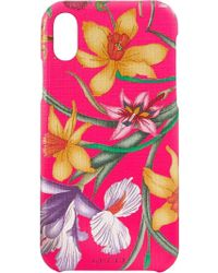 Gucci - Iphone X Case With Flora Print - Lyst