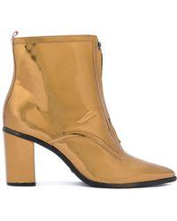 Schutz - Metallic (grey) Boots - Lyst