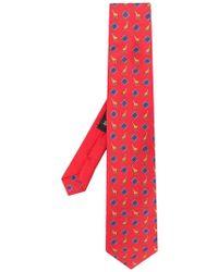 Etro - Corbata con estampado de jirafas - Lyst