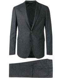 Tonello - Two-piece Check Suit - Lyst