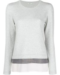 Peserico - Layer Detail Jumper - Lyst
