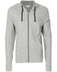 James Perse - Zipped Hoodie - Lyst