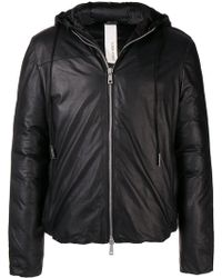Giorgio Brato - Padded Zipped Jacket - Lyst