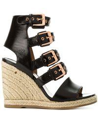 Laurence Dacade - Buckled Wedge Heel Sandals - Lyst