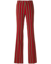 Etro - Striped Trousers - Lyst