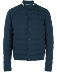 Dior Homme - Collarless Padded Jacket - Lyst
