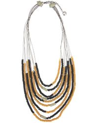Camila Klein - Correntária Resin Details Necklace - Lyst