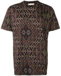 Etro - Geometric Patterned T-shirt - Lyst