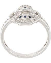 V Jewellery - Evil Eye Ring - Lyst