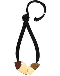 Marni - Geometric Charm Necklace - Lyst