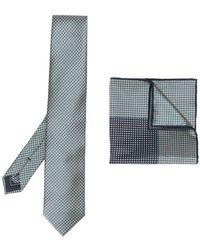 Brioni - Tie And Handkerchief Set - Lyst